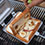 リンゴ×バナナ×はちみつのホットサンドは、琴子ちゃんの考案。スイーツのようなおいしさでした。