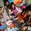 子どもたちは、村山先生のアクティビティを堪能中。ボーイスカウトではおなじみ・ガイロープでネックストラップを作るようです。