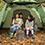 田中家のテントは、強度&居住性に優れたPANELシステムを採用「neos PANELドゥーブル XL」。
