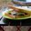 前泊した編集部は、料理家・山田英季氏作の目玉焼き×水菜のサンドイッチで腹ごしらえ。革命的なおいしさ!