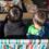 3兄弟が寄り添って座っているのは、新製品「チェアforツー(ストライプ)」。こうして見ると、やっぱり兄弟、似ていますね。