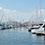 今年で5回目の開催となる横浜大会の会場は「横浜ベイサイドマリーナ」。船着場にはたくさんの船が並んでいます。