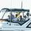 タモリさんは船を乗り換えてレースの様子を見守ります。本当にヨットが好きなんですね。その表情に愛を感じます。
