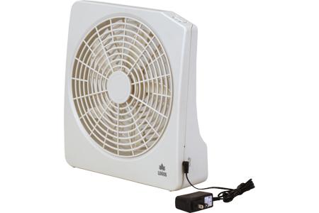 2電源・どこでも扇風機(AC・電池)
