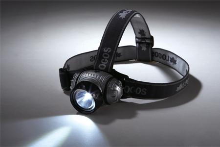 60ルーメン・LEDヘッドライト
