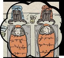 寝室レイアウトの基本