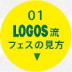 01 LOGOS流フェスの見方