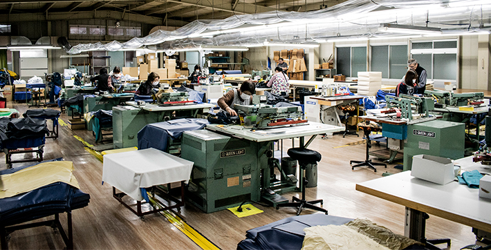 日本製 ー 手作り生産される、安全、丈夫なたしかな品質