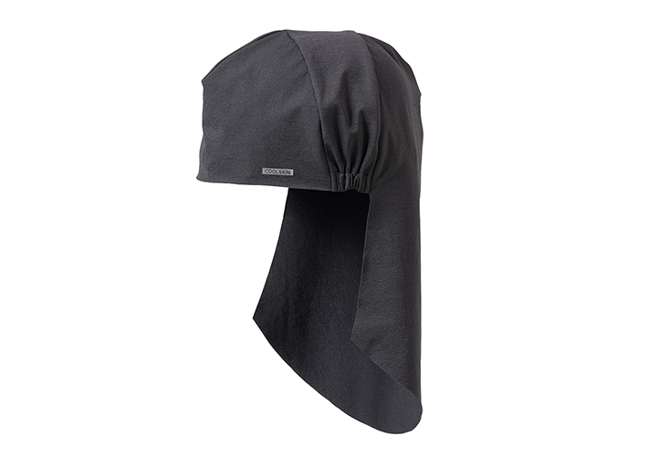 接触冷感でクールダウン!頭にフィットして紫外線からサポート。