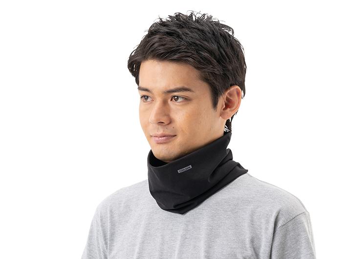 接触冷感でUVカット。首を紫外線からカバーします。