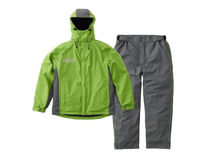 耐油性・耐水性に優れた防水防寒スーツ