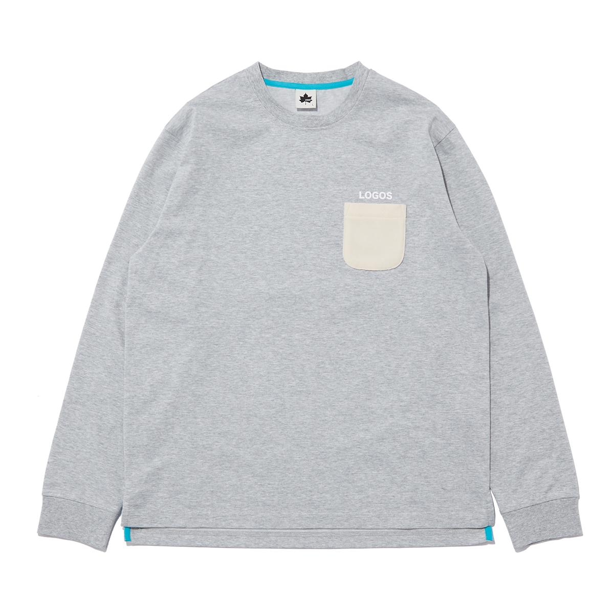 ボアポケットロングTシャツ