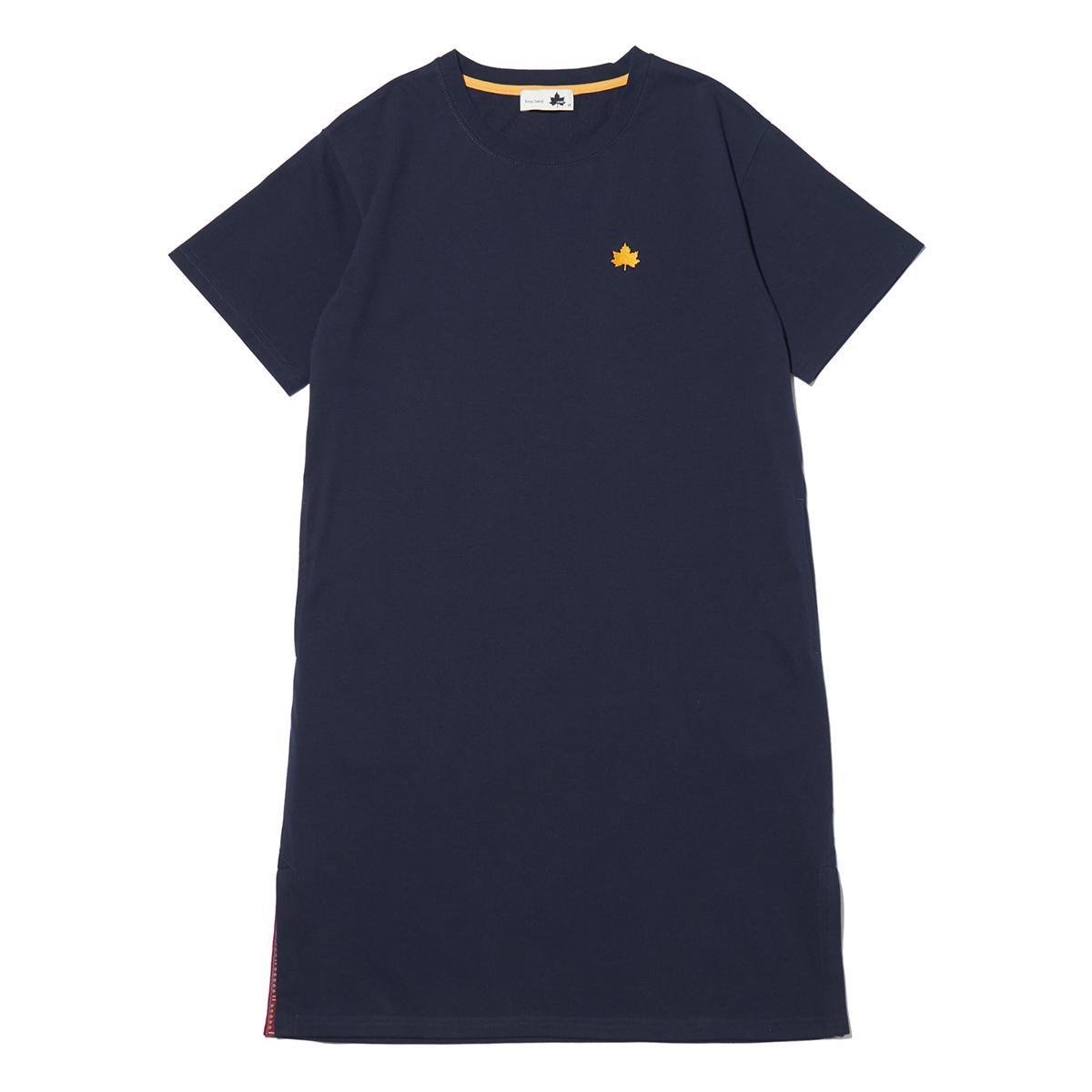 ロングスリットL/Sドレス
