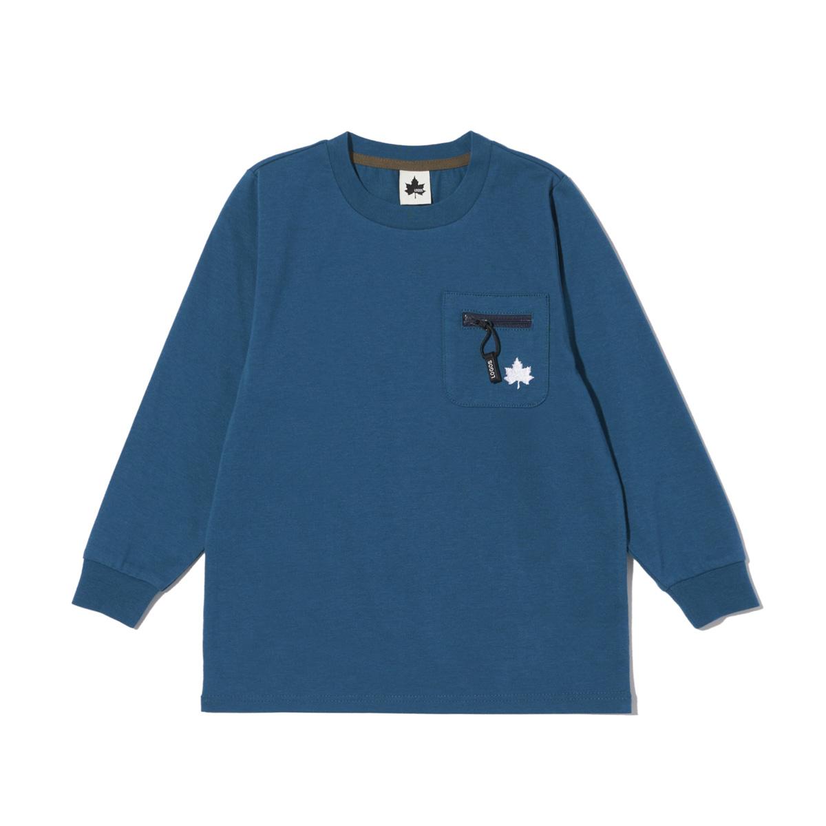 ファスナーポケットTシャツ