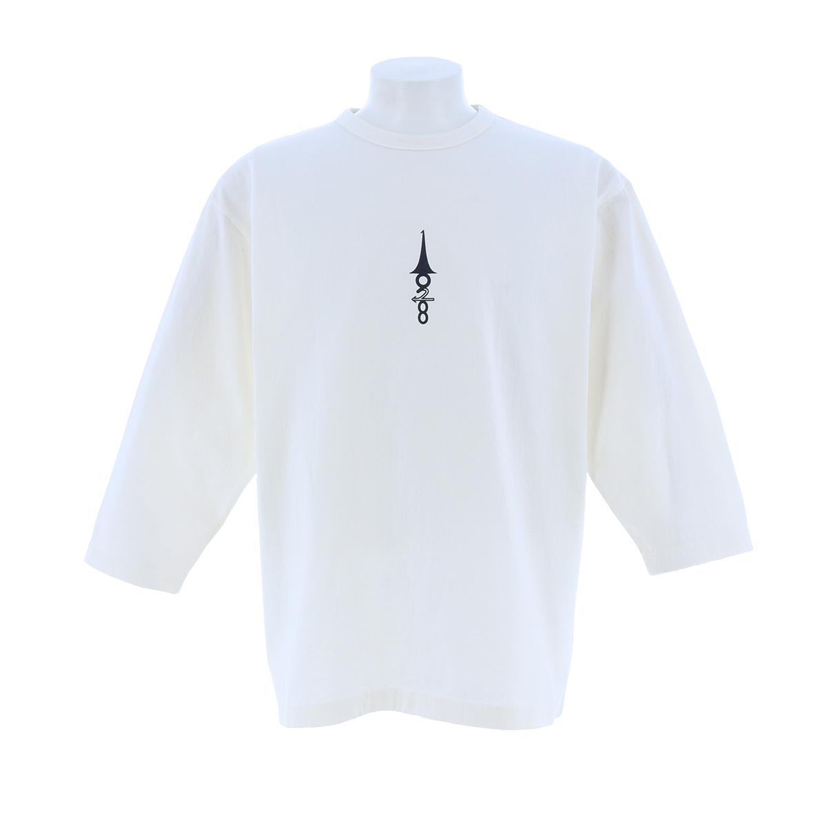 LP 七分袖丸首プリントT-BA