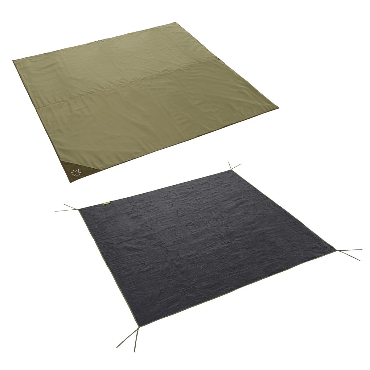 テントマット&テントシート XLサイズ