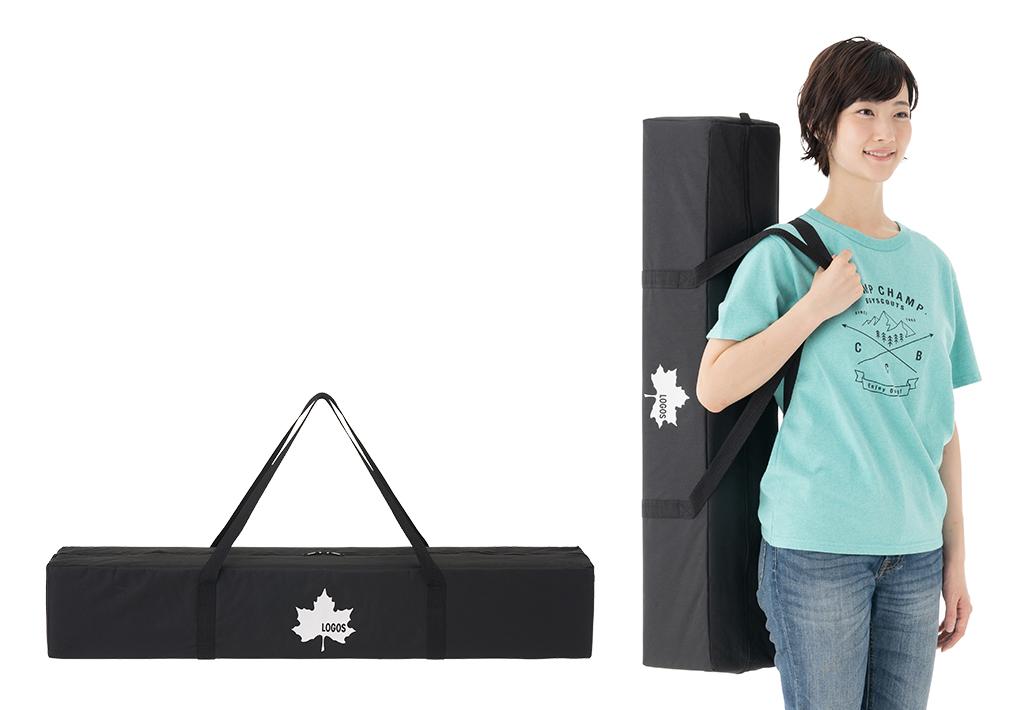 超コンパクト収納&収納バッグ付き