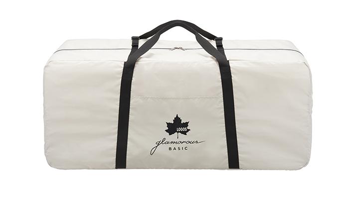 持ち運びに便利な収納バッグ