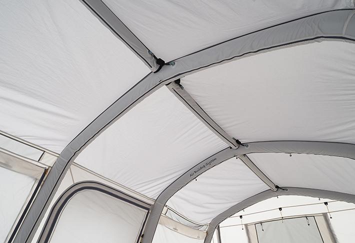 耐風性を向上させる梁型(はりがた)エアチューブ