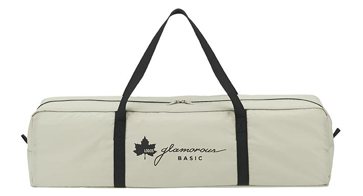 持ち運びに便利な専用収納バッグ