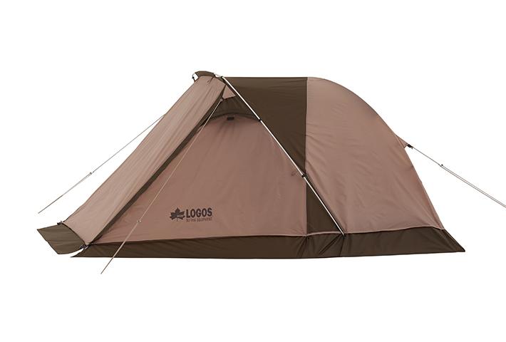 ツーリングに最適! 大型前室付きのコンパクトな1人用テント