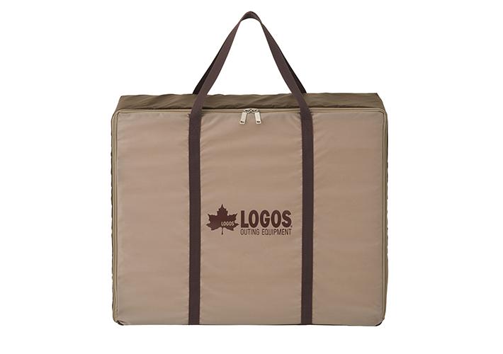出し入れ簡単&持ち運びに便利な収納バッグが付属。