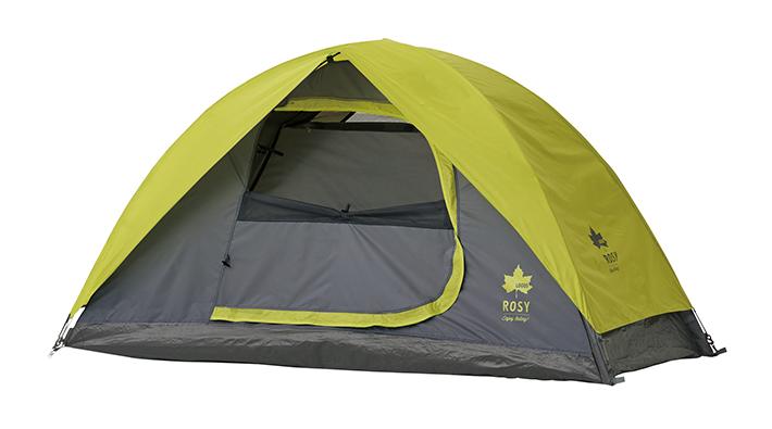 持ち運び&組立て簡単! 様々なシーンで使える1人用テント。