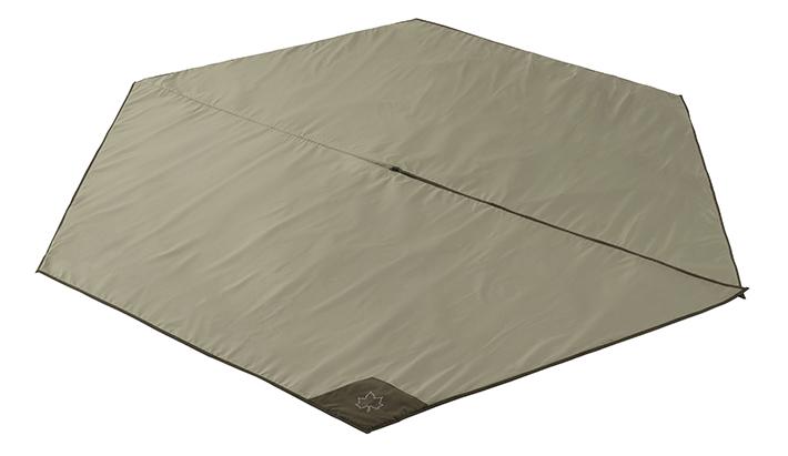 地面の凹凸や冷気、湿気を遮断するTEPEE 350専用のインナーマット