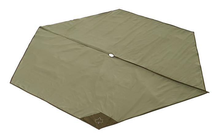 地面の凹凸や冷気、湿気を遮断するTEPEE 300専用のインナーマット