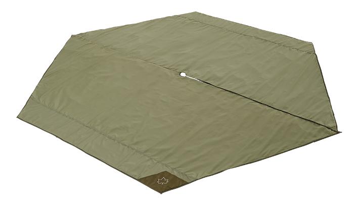 地面の凹凸や冷気、湿気を遮断するTEPEE 400専用のインナーマット