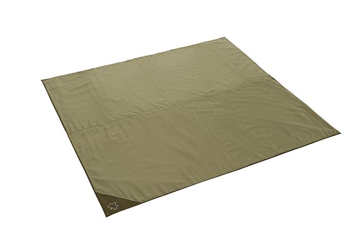 地面の凹凸や冷気、湿気を遮断するXLサイズのインナーマット