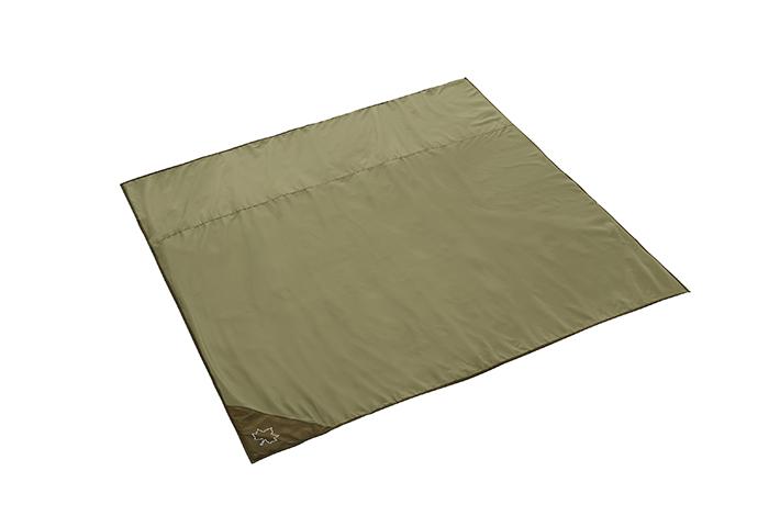 地面の凹凸や冷気、湿気を遮断するMサイズのインナーマット