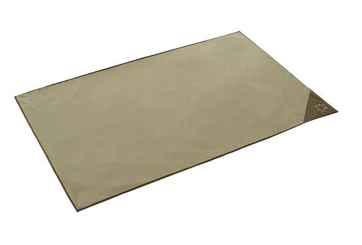 地面の凹凸や冷気、湿気を遮断するDUOサイズのインナーマット