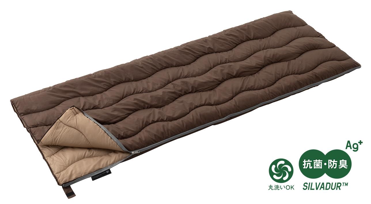 [適正温度5℃まで]DuPont社のSILVADUR(TM)採用!抗菌・防臭性能が高い快適シュラフ