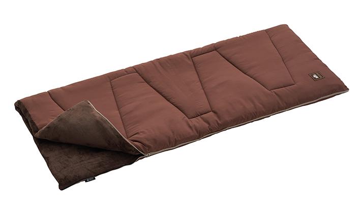 [適正温度-4℃まで]表はサラサラ、中はやわらか!暖かくて気持ちいい寝袋