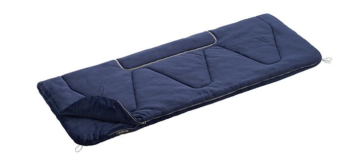 長さ220cmのゆったりサイズ 封筒型シュラフ【適正温度2℃まで】
