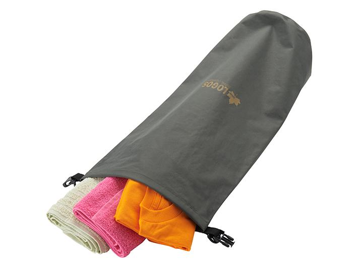 防水バッグとして使用可能