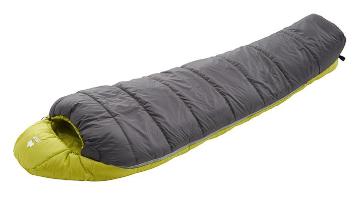 [適正温度2℃まで]暖かさを追求したマミー型寝袋