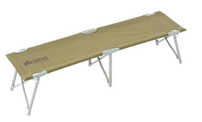 フレームを広げるだけの組み立て簡単3人用ベンチ