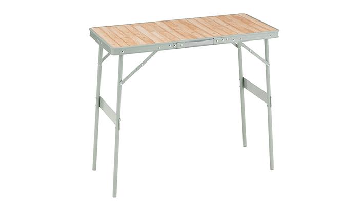 BBQグリルと同じ高さで並べて使えるテーブル!