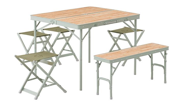 大人数で使える6人用テーブルセット!