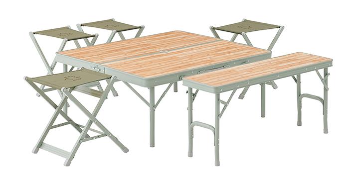 テーブルは高さ2段階調整OK