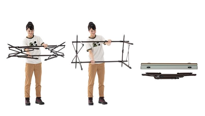 組立て簡単なオートレッグシステム