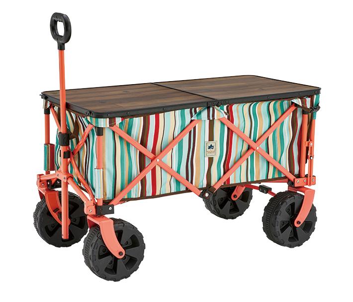 キャリーカートをテーブルに。単体使用もOK!