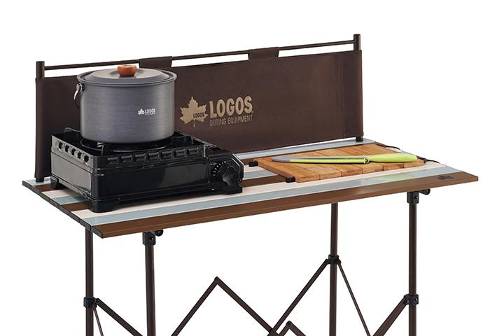 コンロ台と調理台を兼用できる横幅