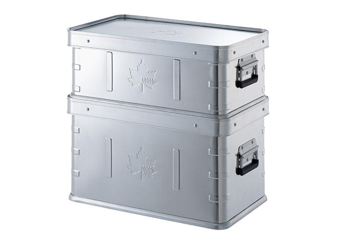 サイズ違い(LOGOS スタックコンテナ・30)を重ねて使用も可能です。