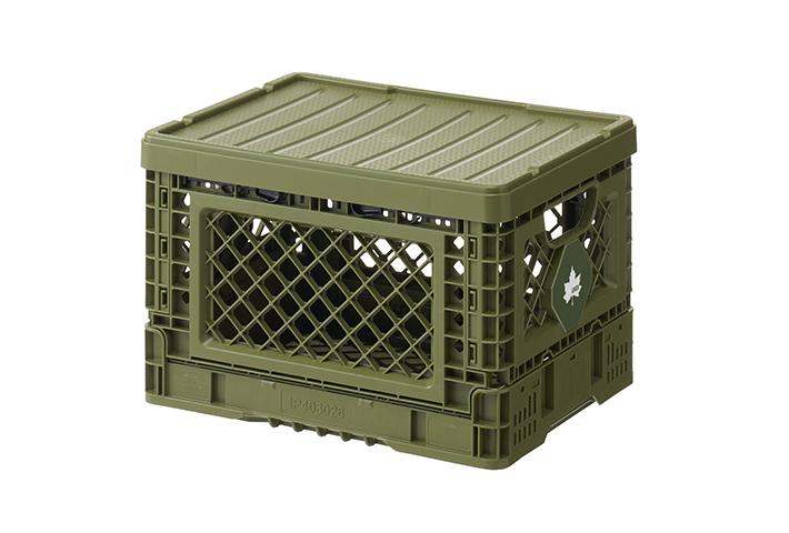 耐久性に優れた丈夫な蓋付きコンテナ。