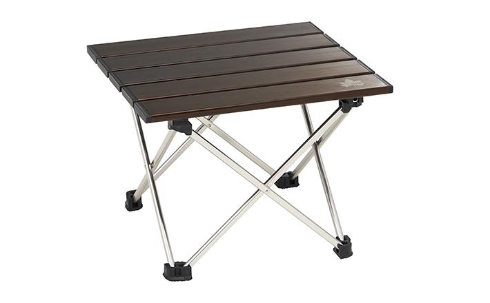 ソロキャンプや登山に!軽量&頑丈なコンパクトテーブル