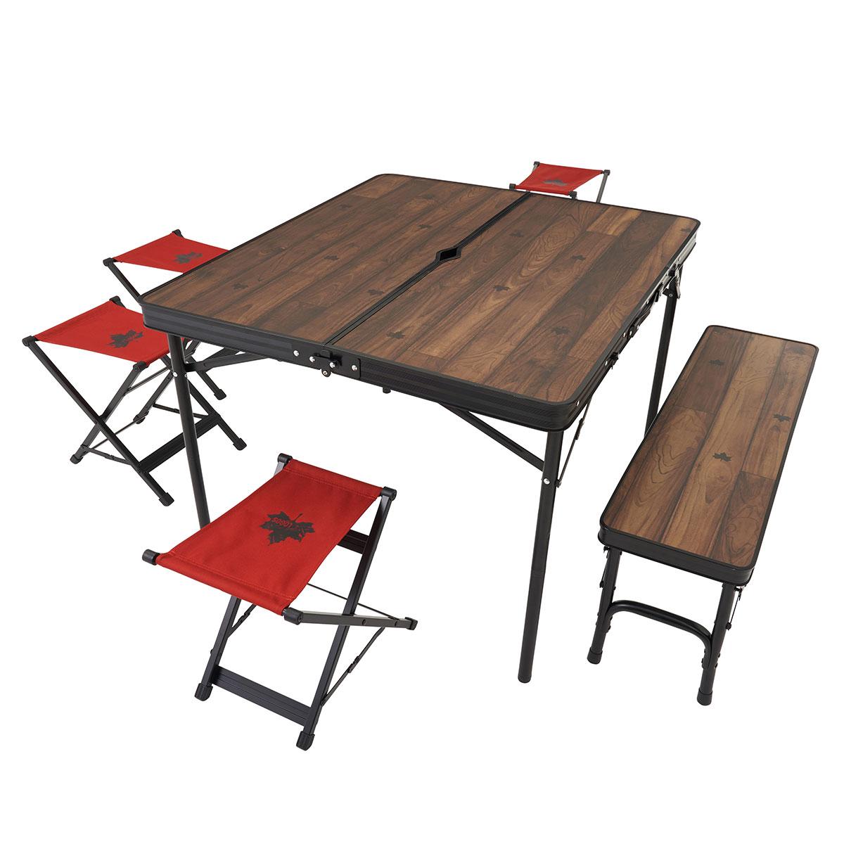 画像1: 【注目リリース】LOGOS(ロゴス)から新発売の「Tracksleeper テーブル」シリーズがタフでおしゃれ!