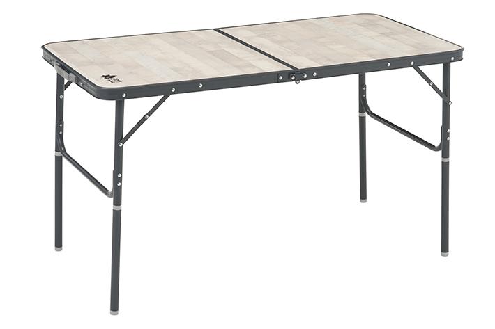 アウトドア+おうちでも使えるダイニングテーブル!